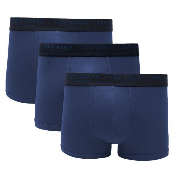 Ted Baker 3 pakkaus 24 7 Basics Trunk - Blue  - Size: 170098 - Color: sininen