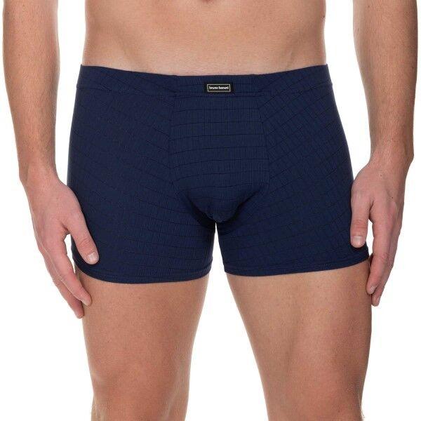 Bruno Banani Check Line 2.0 Shorts - Navy-2  - Size: 2201-2165 - Color: Merensininen