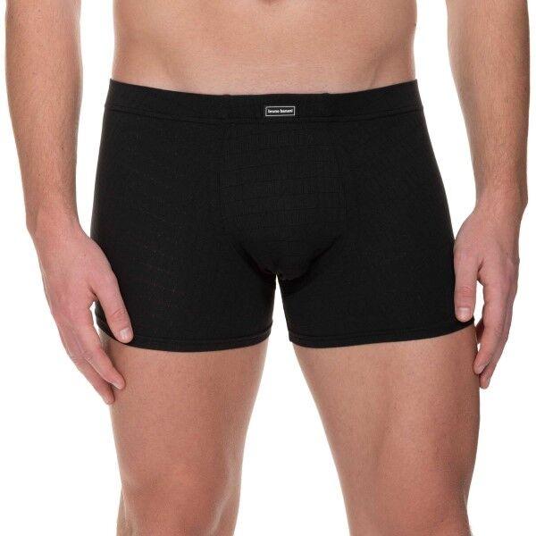 Bruno Banani Check Line 2.0 Shorts - Black  - Size: 2201-2165 - Color: musta