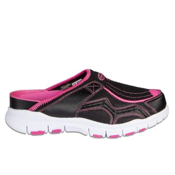 Scholl Jump Clogs - Black/Pink