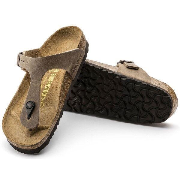 Birkenstock Gizeh Tabacco Brown - Beige  - Size: 943811 - Color: Beige