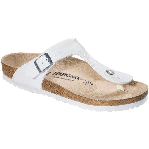 Birkenstock Gizeh Birkoflor - White  - Size: 043731 - Color: valkoinen