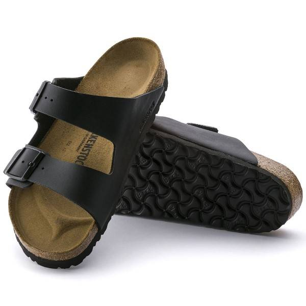 Birkenstock Arizona Birkoflor - Black  - Size: 051793 - Color: musta