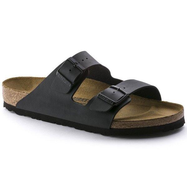 Birkenstock Arizona Birkoflor Pehmeä Jalkapeti - Black  - Size: 551253 - Color: musta