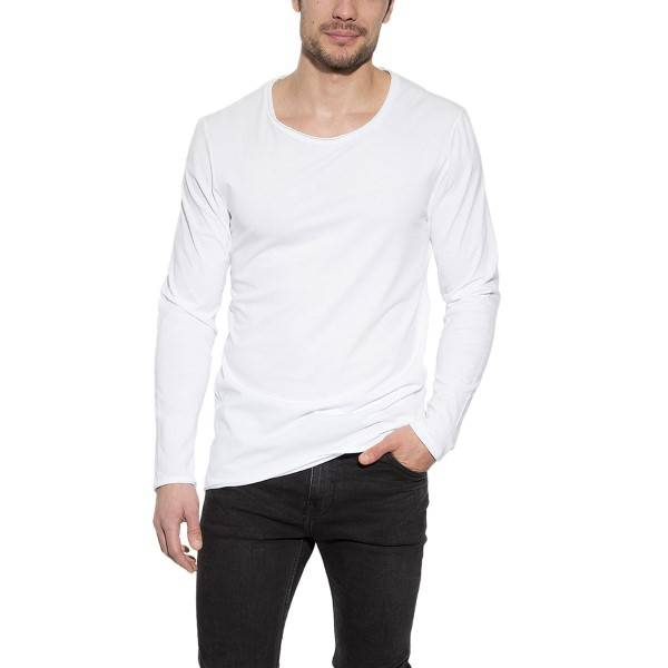 Bread & Boxers Bread and Boxers Long Sleeve Relaxed - White