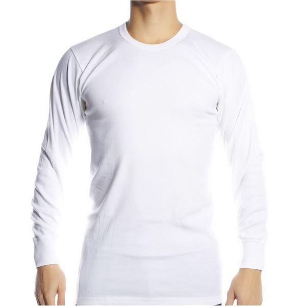 JBS Basic Longsleeve White - White