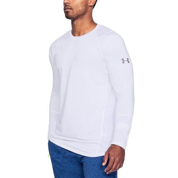 Under Armour HeatGear Raid 2.0 LS Shirt - White * Kampanja *