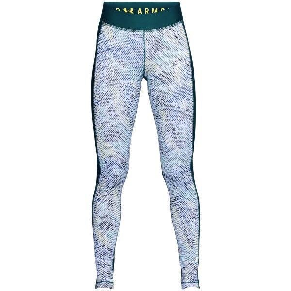 Under Armour HeatGear Armour Printed Leggings - Green Pattern * Kampanja *