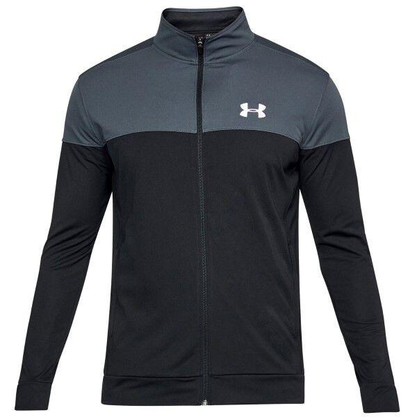 Under Armour Sportstyle Pique Jacket - Black/Grey