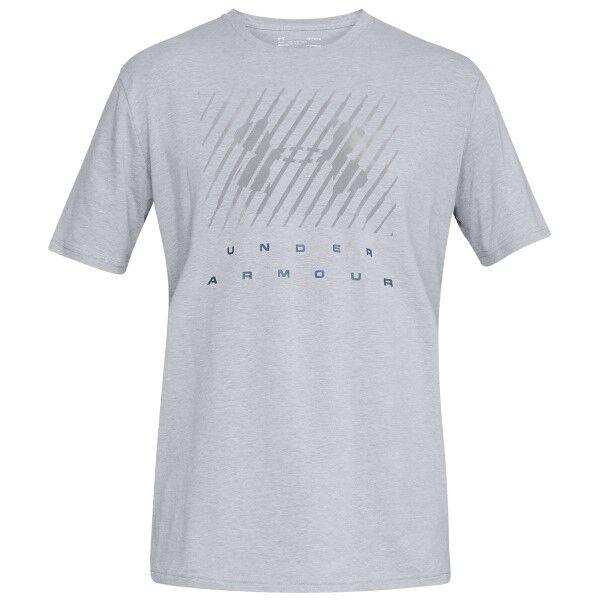 Under Armour Branded BL Short Sleeve T-shirt - Grey