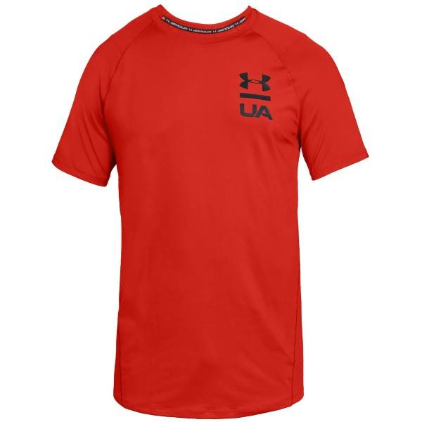 Under Armour MK-1 Logo Graphic Short Sleeve - Red