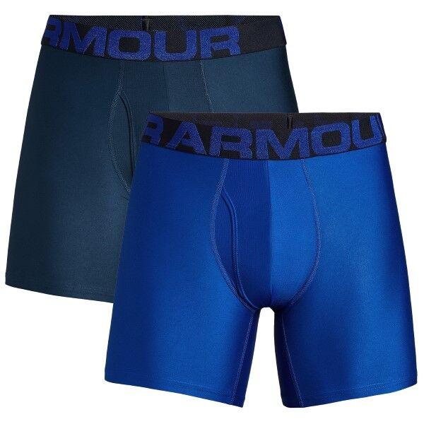 Under Armour 2 pakkaus Tech Boxerjock - Blue