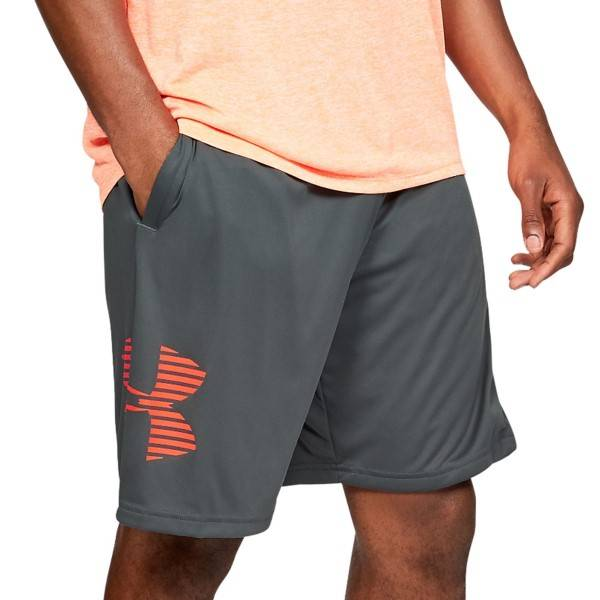 Under Armour Tech Graphic Shorts - Grey