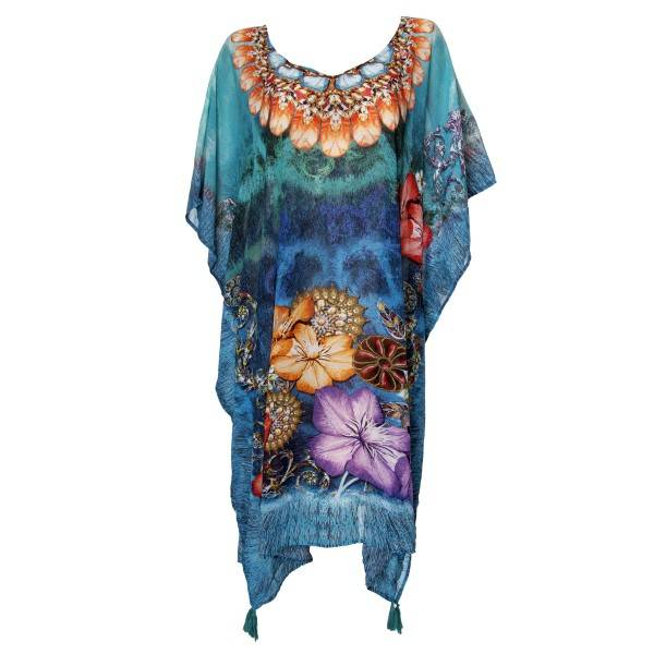 Damella Cover Up Poncho - Mixed