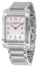 Baume & Mercier MOA10020 Hampton Hopea/Teräs 40x27.1 mm MOA10020