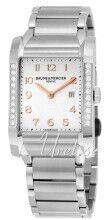 Baume & Mercier MOA10023 Hampton Hopea/Teräs 40x27.1 mm MOA10023