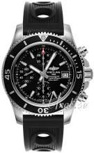 Breitling A13311C9-BF98-202S-A18D.2 Superocean Chronograph Musta/Kumi Ø42 mm A13311C9-BF98-202S-A18D.2