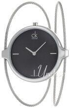 Calvin Klein K2Z2S111 Agile Musta/Teräs Ø30 mm K2Z2S111