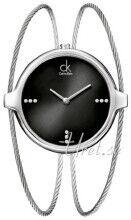 Calvin Klein K2Z2S11S Agile Musta/Teräs Ø37 mm K2Z2S11S