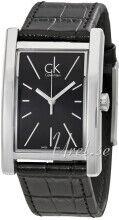 Calvin Klein K4P211C1 Refine Musta/Nahka K4P211C1