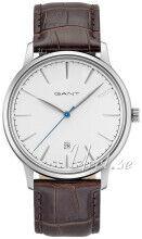 Gant GT020002 Stanford Valkoinen/Nahka Ø42 mm GT020002
