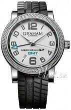 Image of Graham 2MECS.S03A Mercedes GP Time Zone Hopea/Kumi Ø48 mm 2MECS.S03A