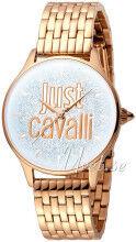 Just Cavalli JC1L043M0045 Logo Hopea/Punakultasävyinen Ø34 mm JC1L043M0045
