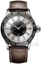 Longines L2.678.1.71.0 The Lindbergh Hour Angle Hopea/Nahka Ø47.5 mm L2.678.1.71.0