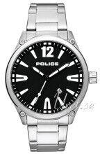 Image of Police PL15244JBS/02M Musta/Teräs Ø48 mm PL15244JBS/02M
