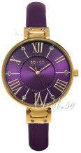 Image of So & Co New York 5091.2 Studio Violetti/Nahka Ø34 mm 5091.2