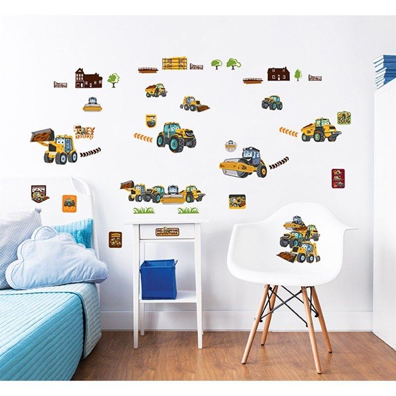 Walltastic Seinäsiirtokuvat, My First JCB