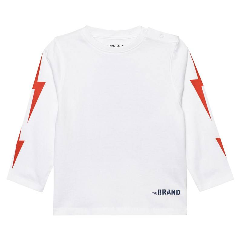 The BRAND Boom T-paita Valkoinen80/86 cm
