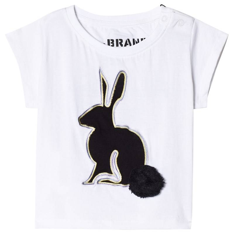 The BRAND 3D Rabbit T-paita White80/86 cm