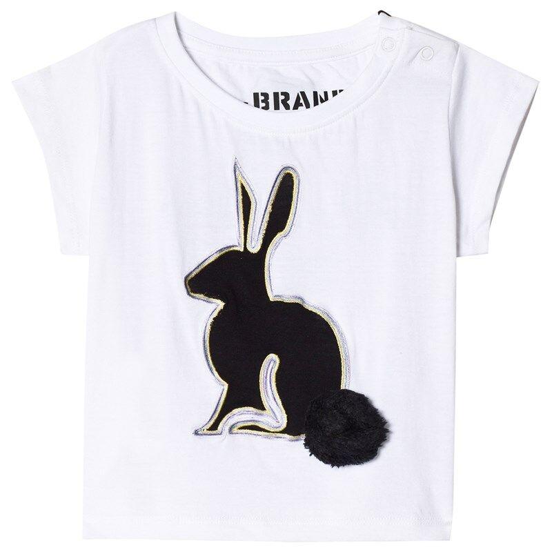 The BRAND 3D Rabbit T-paita White116/122 cm