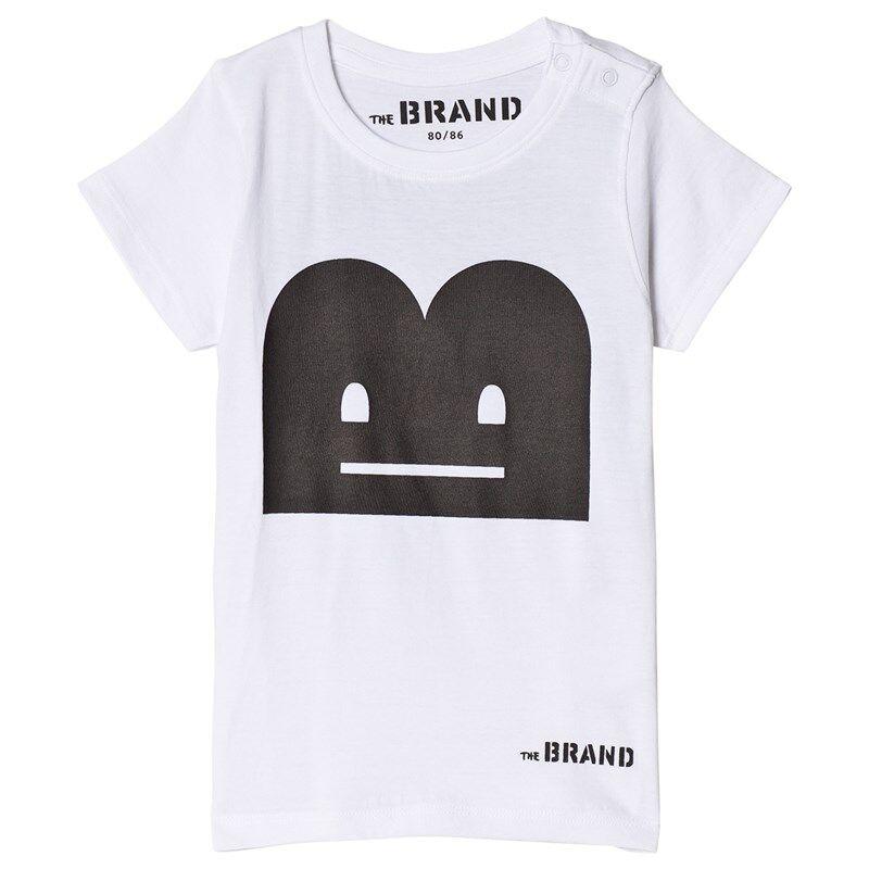 The BRAND B-Moji T-paita Valkoinen116/122 cm