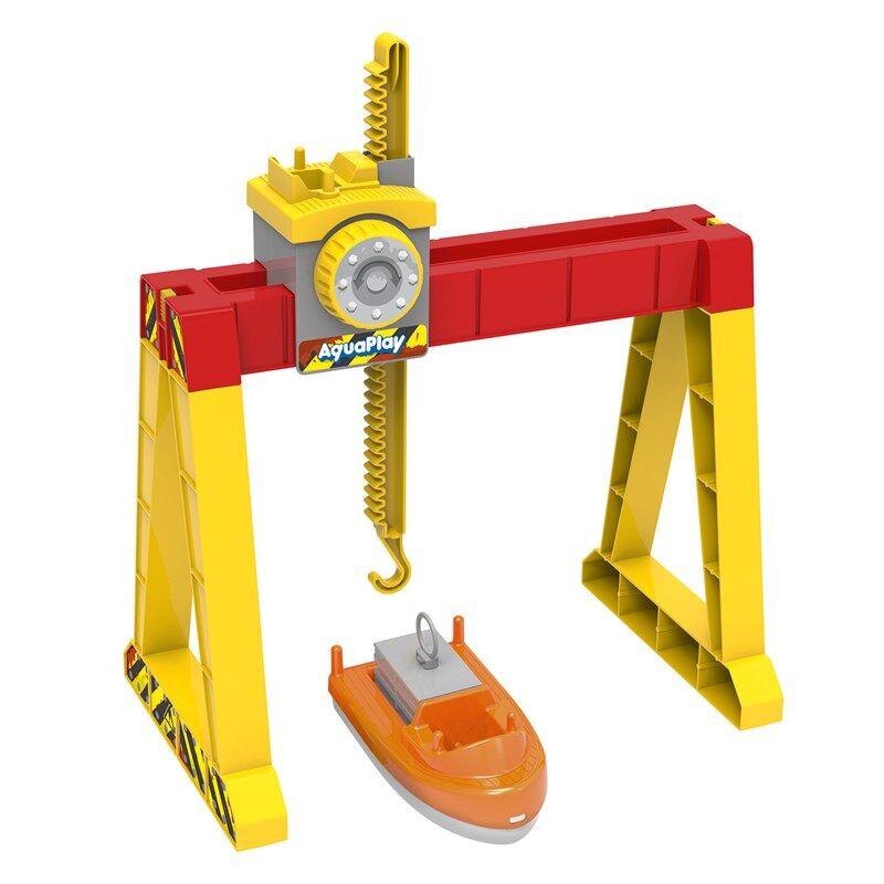 Aquaplay Container Crane Set