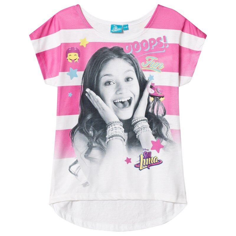 Disney Soy Luna T-paita Valkoinen/Vaaleanpunainen116 cm