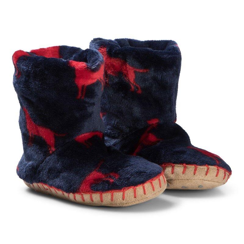 Hatley Red Labs Fleece TohvelitS (UK 5-7)