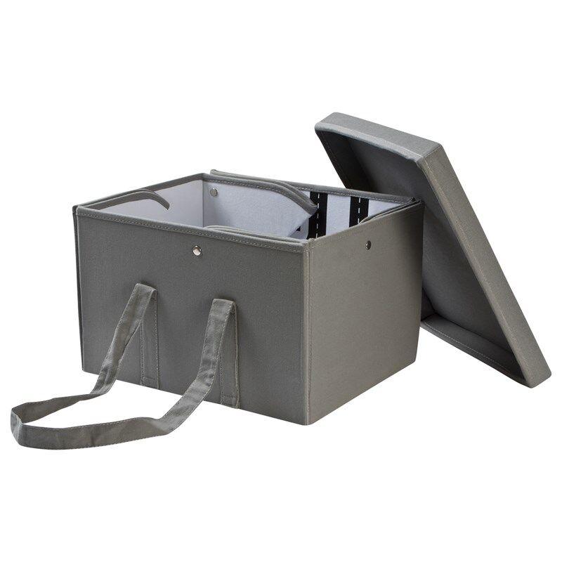 JOX Säilytyslaatikko ja Leikkimatto Harmaa
