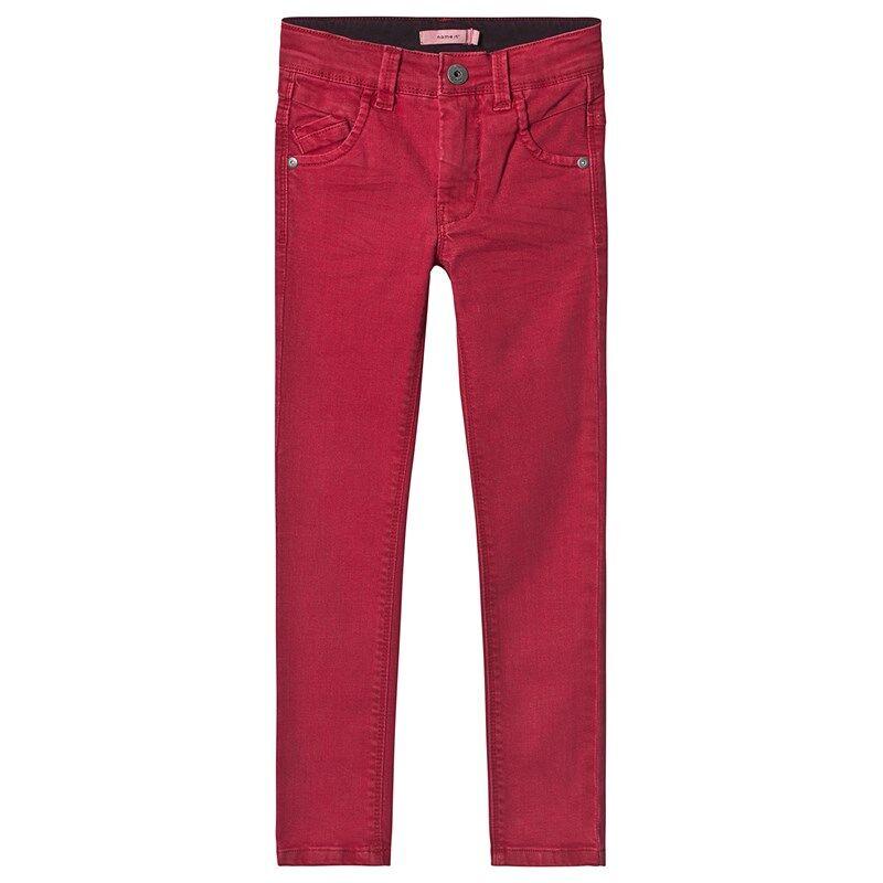 Name It Pete Twicasper Housut Jester Red134 cm