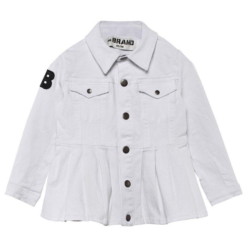 The BRAND Denim Peeplum Takki Washed White104/110 cm