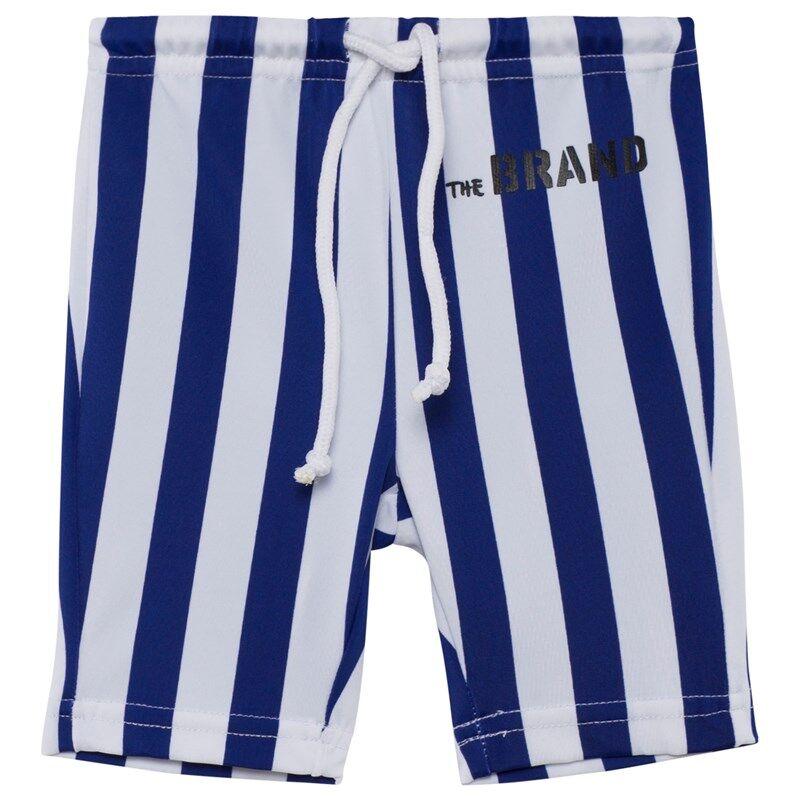 The BRAND Uimahousut Blue/White Stripe128/134 cm