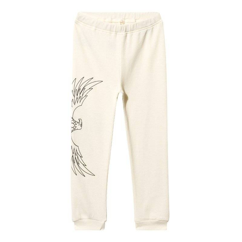 The BRAND Baby Waffle Pant Off White80/86 cm