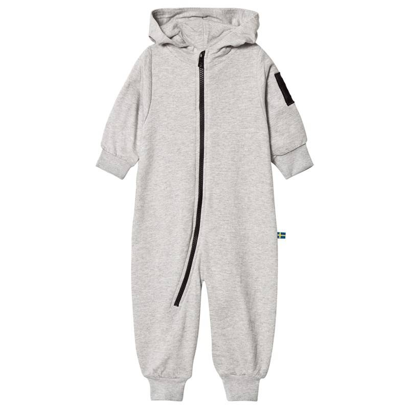 The BRAND Bolt Baby Onesie Grey Mel68/74 cm