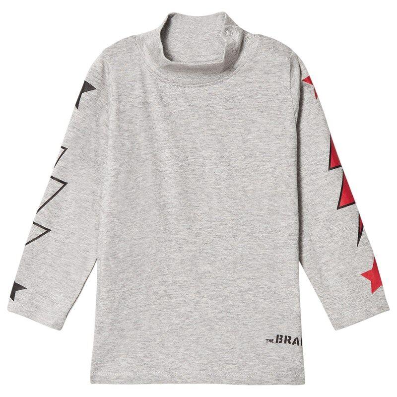 The BRAND Polo Bolt T-shirt Grey Mel128/134 cm