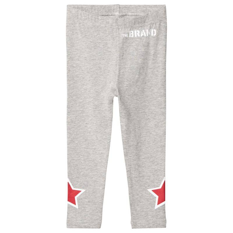 The BRAND Star Leggingsit Harmaameleerattu104/110 cm