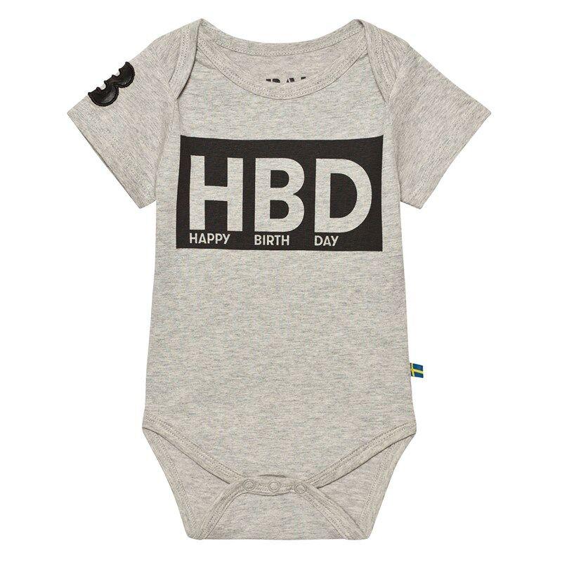 The BRAND HBD Vauvan Body Harmaameleerattu56/62 cm