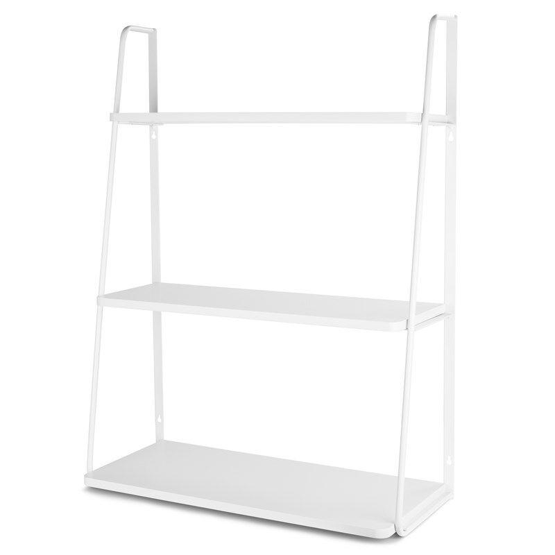 JOX Furniture Seinähylly 3 tasoa Valkoinen
