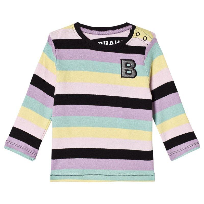 The BRAND Baby Kit T-paita Pastelliraitainen92/98 cm