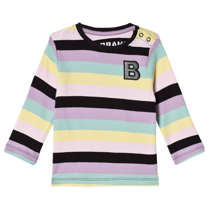 The BRAND Baby Kit T-paita Pastelliraitainen80/86 cm
